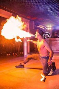 Feuershow mieten