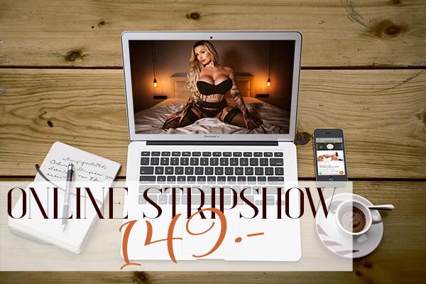 Online Stripshow buchen