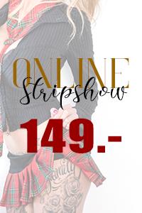 Stripshow ONLINE buchen